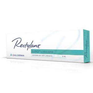 Buy Restylane SUBQ Lidocaine 1 x 2ml