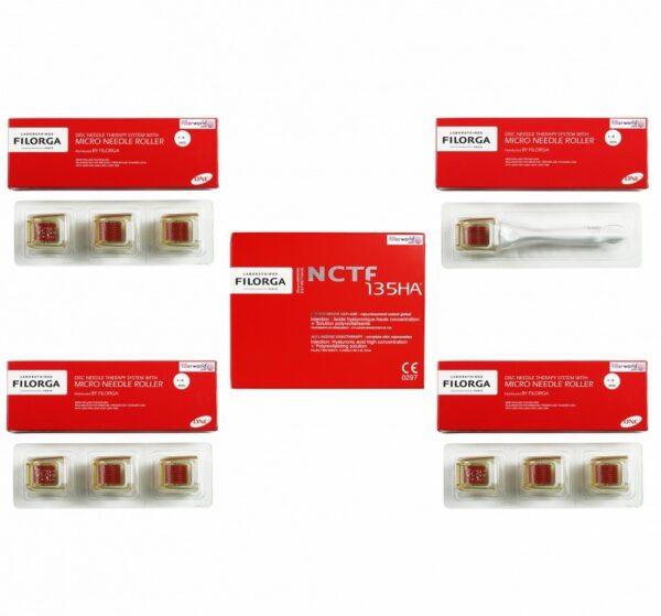 Buy Filorga NCTF 135HA with needle roller - 10 x 3ml