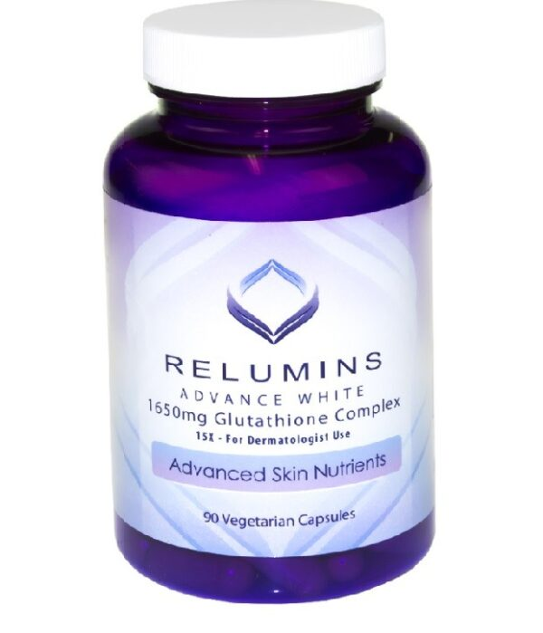 Buy Relumins Advance White 1650mg Glutathione Complex