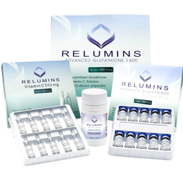 Relumins Advanced Glutathione 1400mg PLUS Boosters