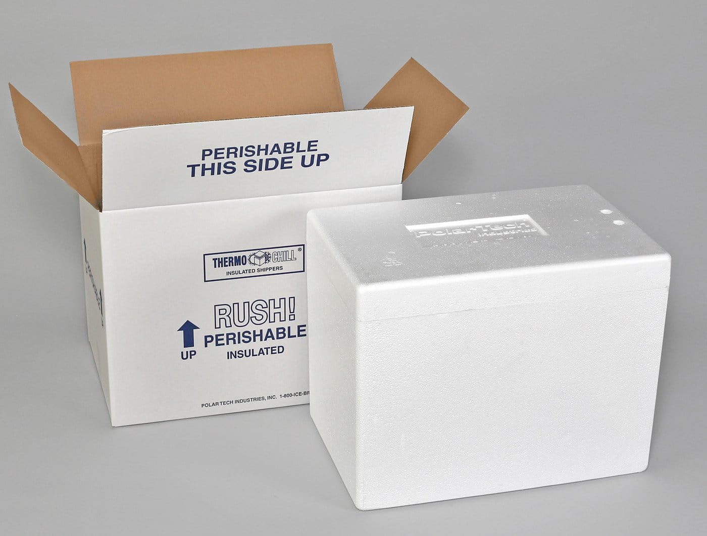 Thermo Chill Insulated Carton with Foam Shipper