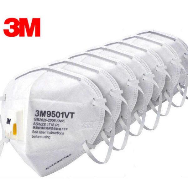 3M 9501V Mask Anti-dust masks KN95 Masks Anti-haze Riding Protective Masks