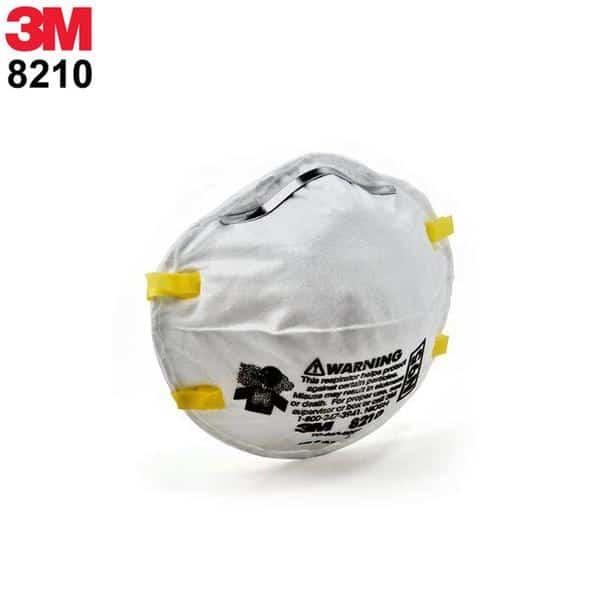 3M Particulate Respirator 8210 N95 masks