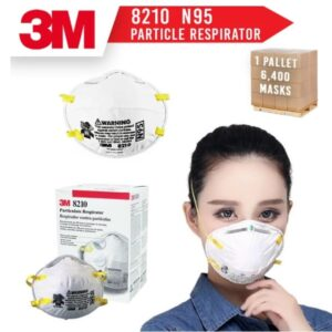 Buy 3M Particulate Respirator 8210 N95 Mask NIOSH Approved