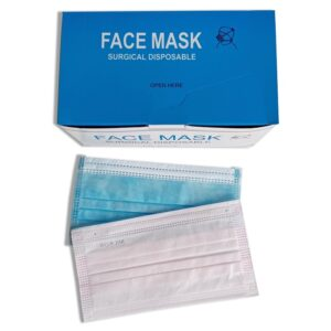 Custom Earloop Disposable 3ply Surgical Face Mask