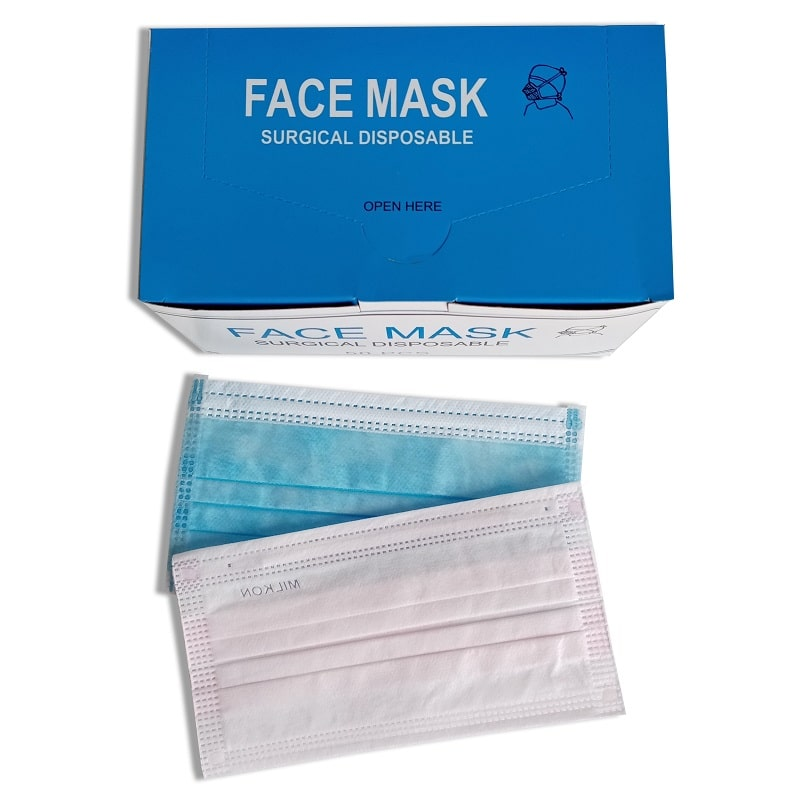 disposalable surgical face masks