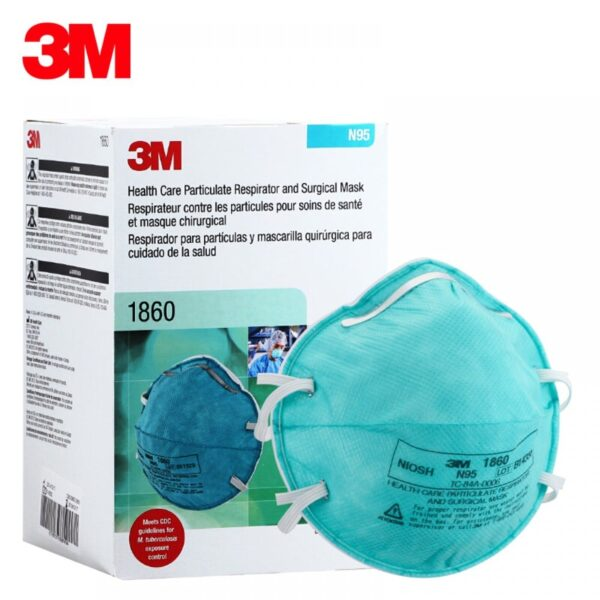 Buy 3M 1860 SURGICAL MASK N95 Wholesale Online
