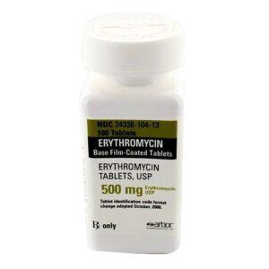 Osta erütromütsiini 500 mg tablette Internetist