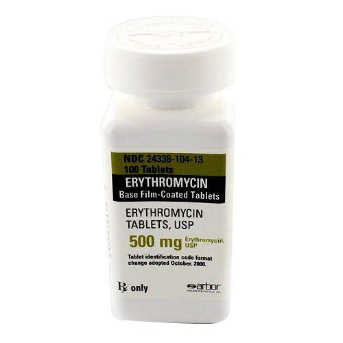 Buy Erythromycin 500mg Tablets Online